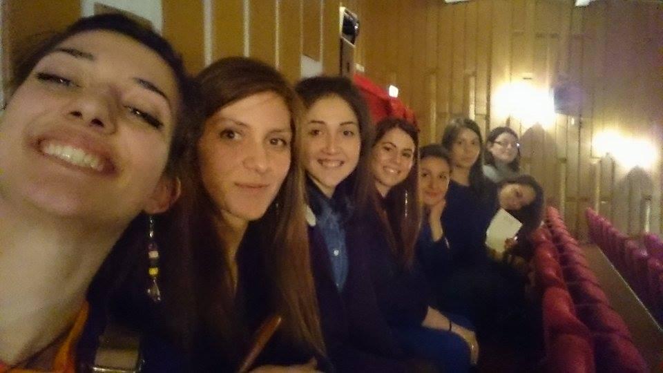 От ляво на дясно: Деница Димитрова, Деница Грудева, Нукет, Станислава, Елена Райнова, Мирен, Йоанна, Никея