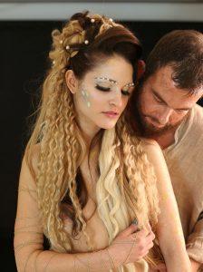 Ненчо Балабанов и Веси Бонева в сцена от поп-операта