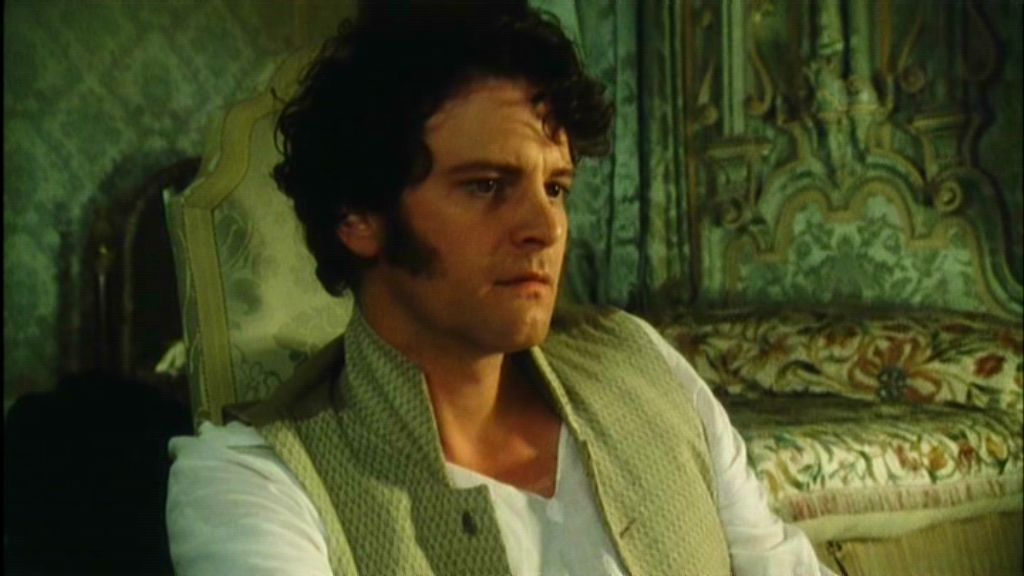 Colin Firth in Pride and Prejudice, 1995