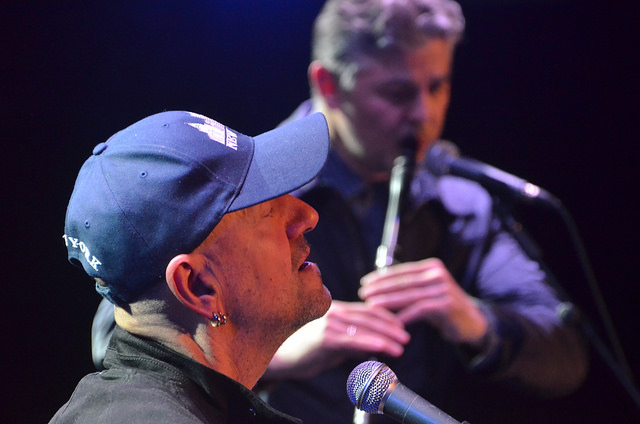 Влатко Стефановски и Теодосий Спасов на един от концертите им