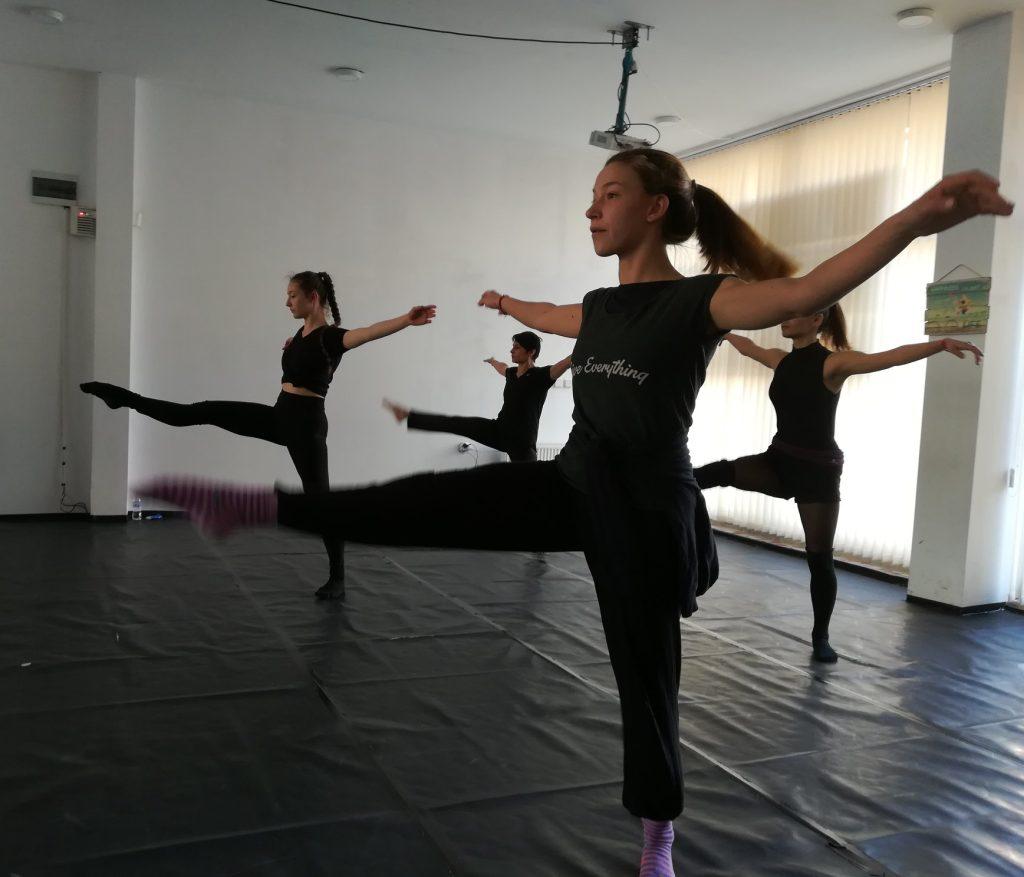 Кастинг за съвременни танцьори